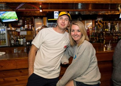 Couple at Streeter's Bar